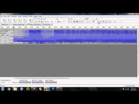 Glitch Art Tutorial - Databending in Audacity