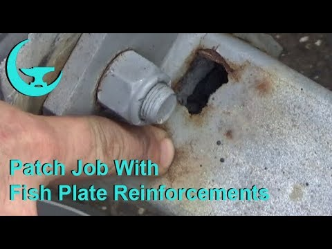 Patch Job With Fish Plate Reinforcements