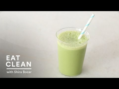 kale,-pineapple,-and-almond-milk-smoothie---eat-clean-with-shira-bocar