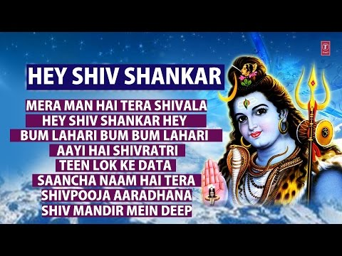 Hey Shiv Shankar, Shiv Bhajans By Suresh Wadkar, Anuradha Paudwal I Full Audio Songs Juke Box