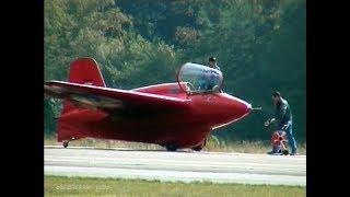 World's Only Flying Messerschmitt Me 163 Komet (Kraftei)- The First Rocket-Powered Fighter Aircraft!