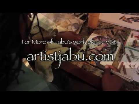 Artist Jabu's Gallery Exhibition Promo (10-11-2014)