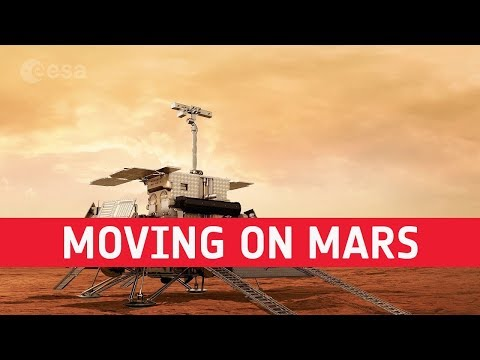 ExoMars  Moving on Mars