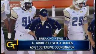 Al Groh Fired From Georgia Tech?