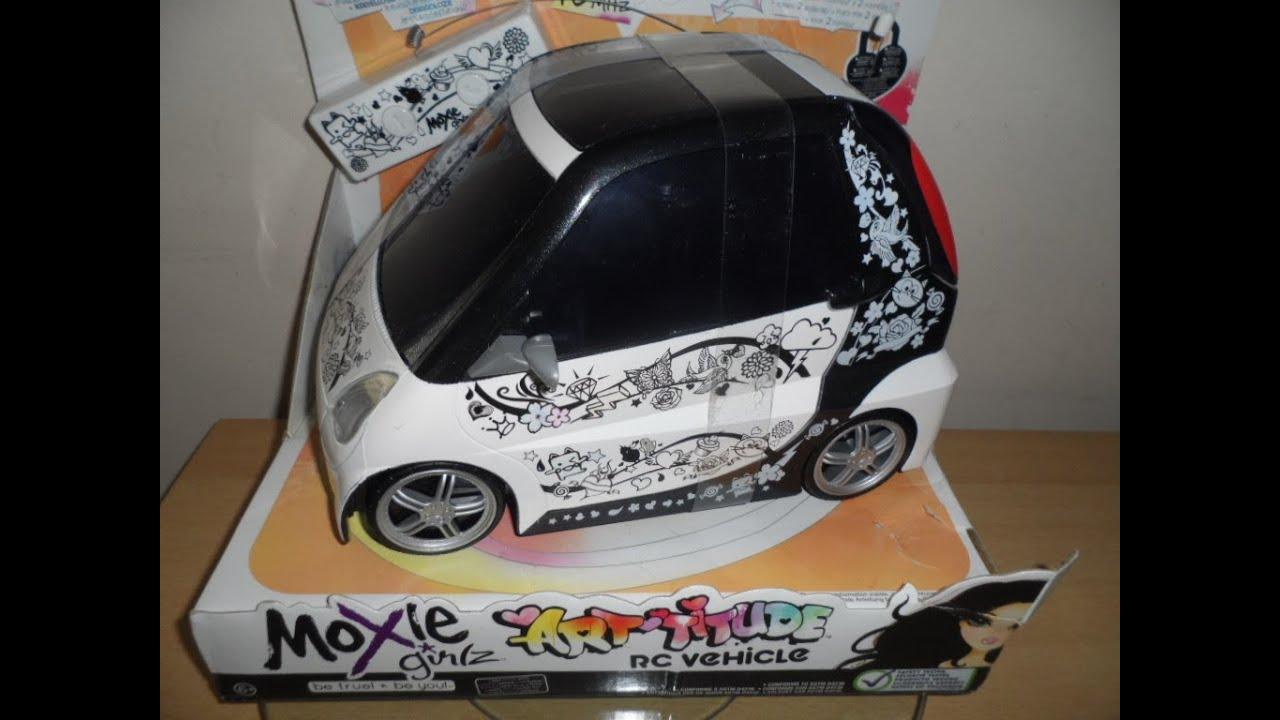 MOXIE GIRLZ ART TITUDE WIRELESS REMOTE CONTROL TOY CAR ...