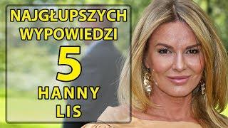 5 najgłupszych wypowiedzi Hanny Lis.