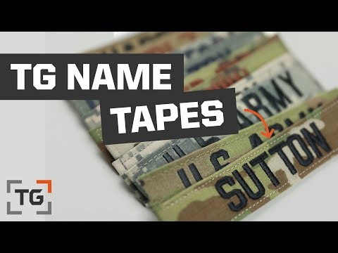 TG Name Tapes At TacticalGear.com