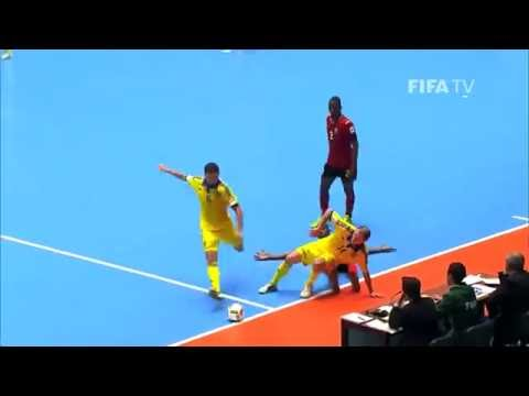 Match 19: Ukraine v Mozambique - FIFA Futsal World Cup 2016