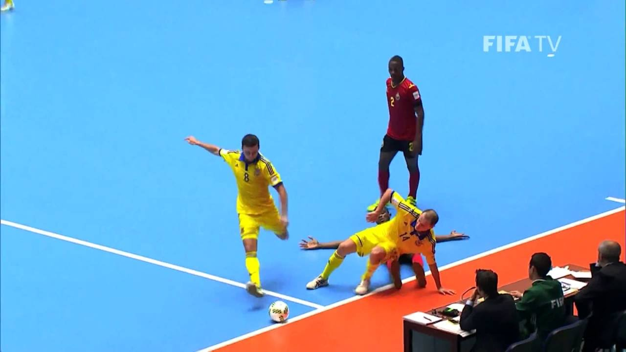 Video: Futsal Ukraina vs Futsal Mozambique