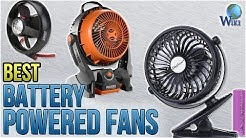 10 Best Battery Powered Fans 2018