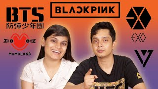 Srishti & Shayan Learn Everything About K-Pop   BuzzFeed India