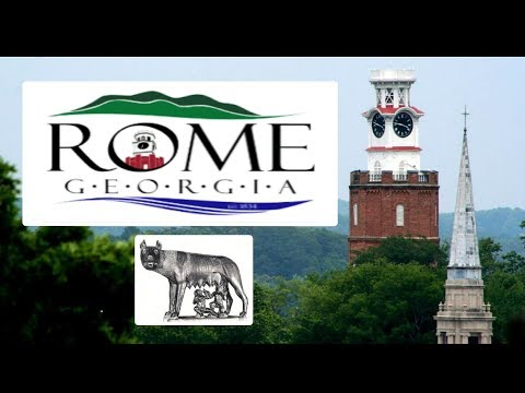 ROME GEORGIA HISTORICAL DOWNTOWN - Story Of The Capitoline Statue
