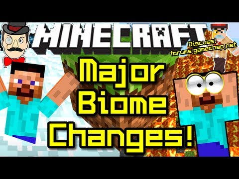 Minecraft News MAJOR BIOME CHANGES from Jeb!