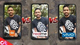 Realme 2 Pro vs Vivo V9 Pro vs Mi A2 CAMERA TEST Comparison