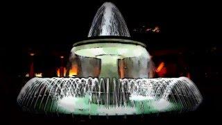 Вечерние фонтаны. (садик Парапет)(Спасибо за просмотр. Жмите на