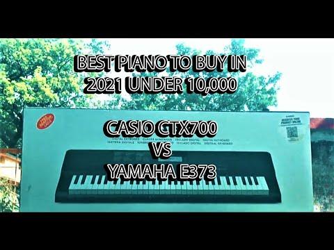 Best Keyboard To Buy In 2021 Under 10000. Casio CTX700 Vs Yamaha E373