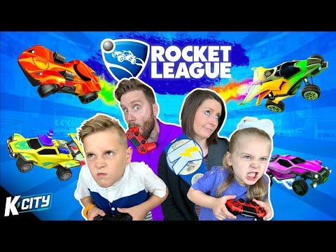 ROCKET LEAGUE Family Battle!!! K-CITY GAMING