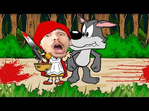 NON FARTI MANGIARE DAL LUPO CATTIVO!! | Little Red Lie