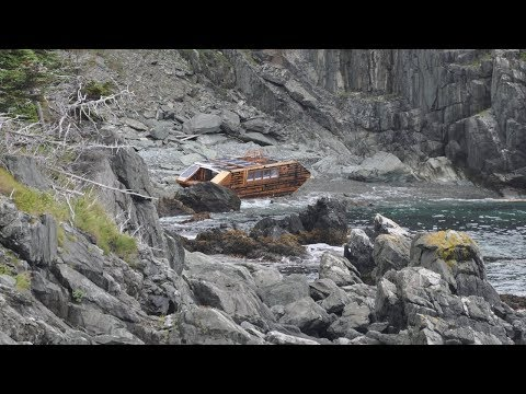 This Mysterious Boat Washed Up On Irelands Coast, And There Wasnt A Single Trace Of Any Crew