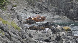 This Mysterious Boat Washed Up On Ireland's Coast, And There Wasn't A Single Trace Of Any Crew