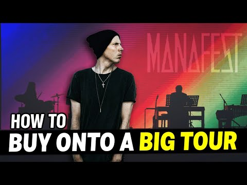 How To Open For A Band & Buy On To Their Tour