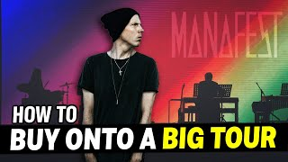 How to open for a band & buy on their tour