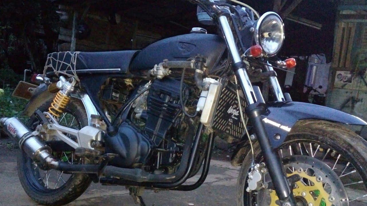 Cb100 mesin ninja 250