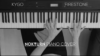 Kygo - Firestone ft. Conrad Sewell (Piano Cover)