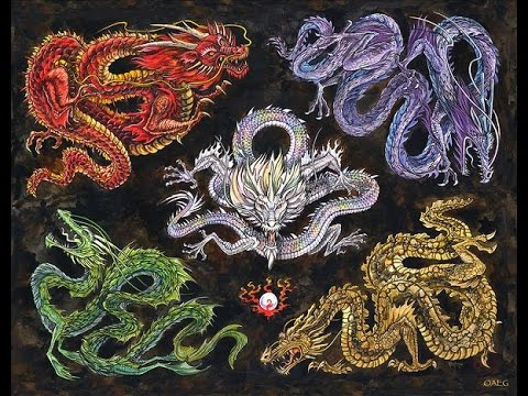 Elemental Dragon Guardians | Draconic Wicca