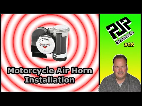 Victory CCT Air Horn Install on