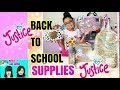 BACK TO SCHOOL HAUL 2018+JUSTICE HAUL+BACK TO SCHOOL SUPPLIES 5TH GRADE +WHATS IS MY BACKPACK.