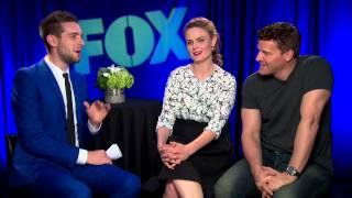 BONES Season 10 Interview - David Boreanaz & Emily Deschanel - BUFFY THE VAMPIRE SLAYER