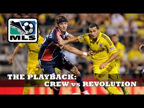 EXTENDED HIGHLIGHTS: Goal-fest in Ohio, Columbus Crew vs New England Revolution - The Playback