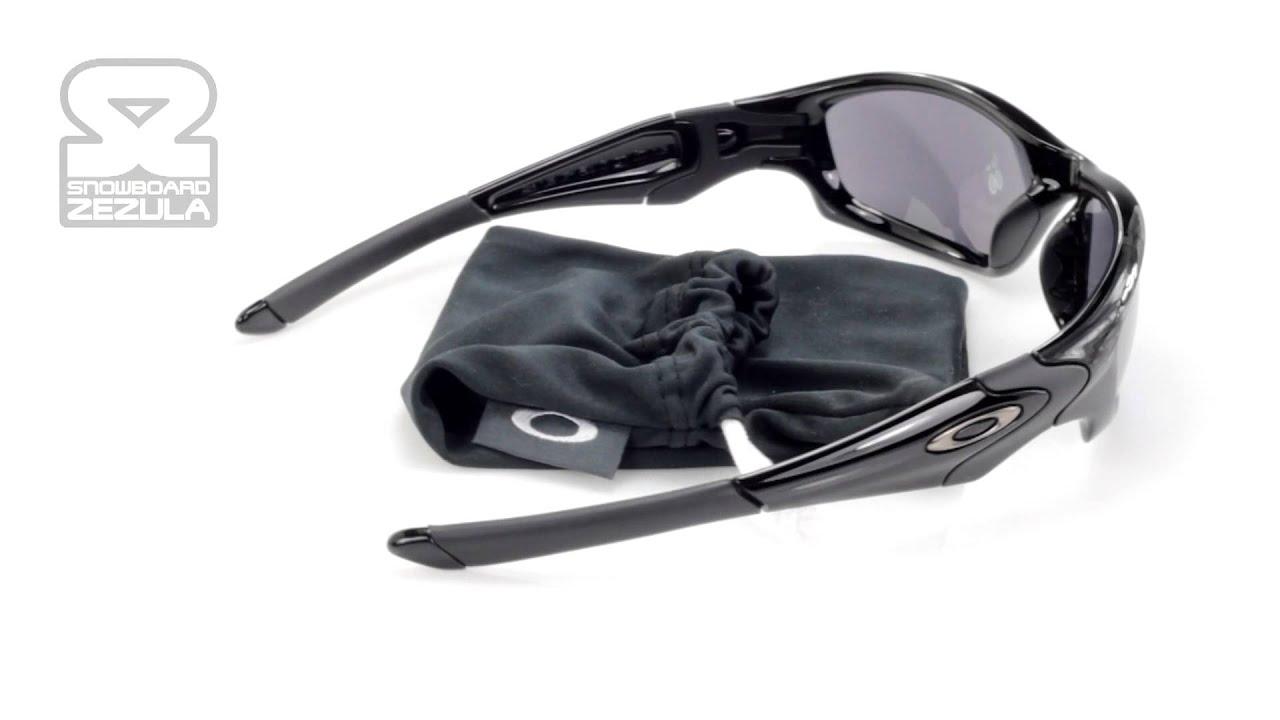 oakley straight jacket polished black lens black iridium