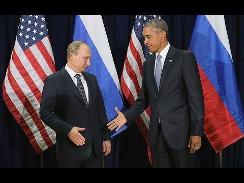 Putin and Obama exchange awkward handshake at Peru summit