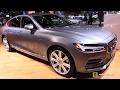 2017 Volvo S90 T6 AWD Inspiration - Exterior and Interior Walkaround - 2016 LA Auto Show