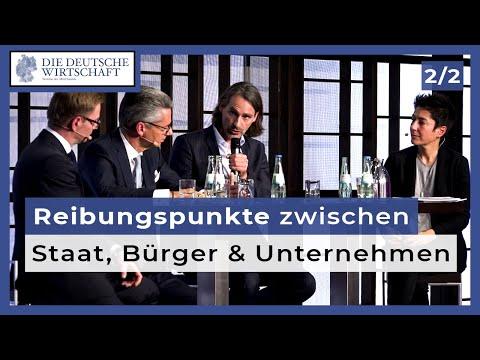 Precht, Grillo, Holznagel und Hajali diskutieren (2): Respektiert der Staat Bürger und Wirtschaft?