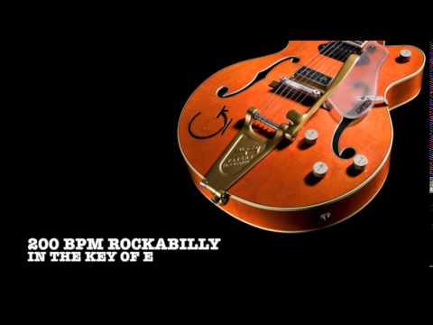 200 bpm Rockabilly Backing Track (E)