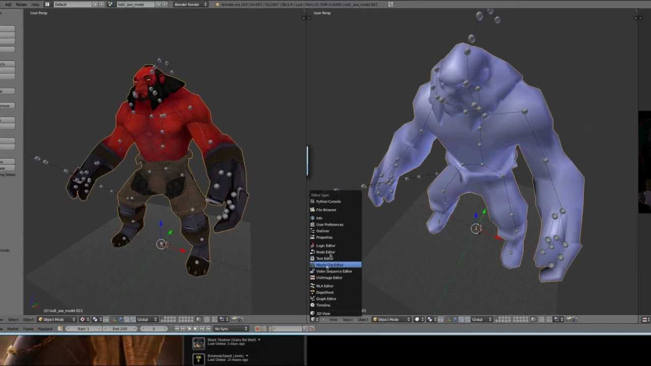 DOTA2 Workshop Tutorial 1 - Importing to Blender