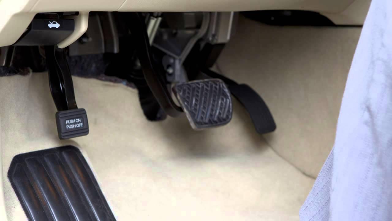 2014 Infiniti Qx60 Parking Brake And Indicator Youtube