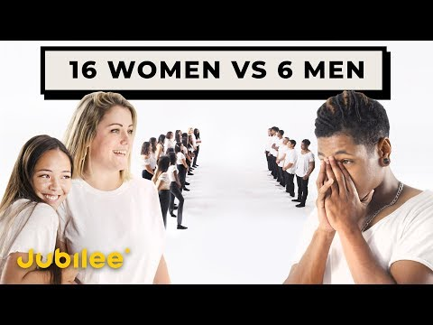 16 Women Compete for 6 Men
