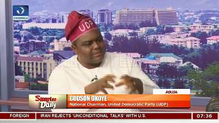 Okoye, Tanko Hint Looming Danger Over Unhealthy Nat'l Politics, 2019 Elections Pt.2 |Sunrise Daily|