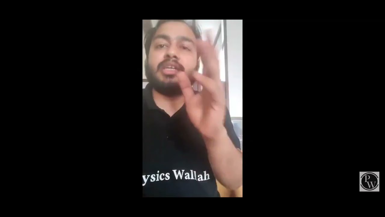 Download alakh sir important message to all physics wallah students