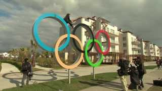 Inside the Sochi athletes village