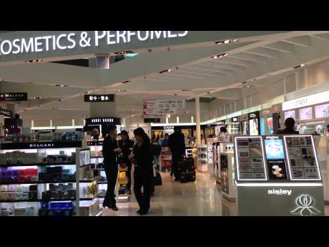 Cosmetics and Perfumes Shop in Seoul Incheon International Airport