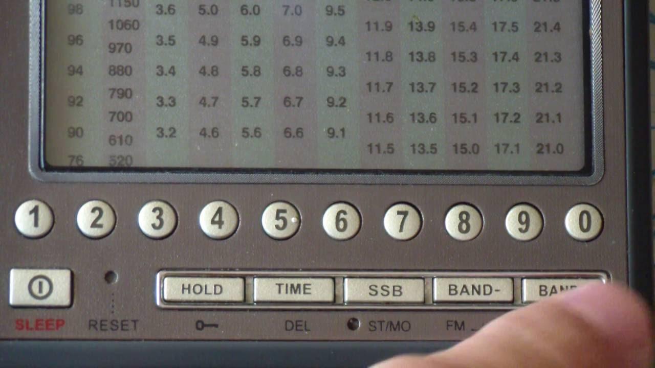 Кв укв am fm ssb радиоприемник degen 1103 de1103.