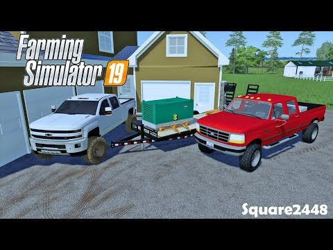 Buying 7.3 Powerstoke | Generator | Horses & Chickens | Homeowner | Farming Simulator 19