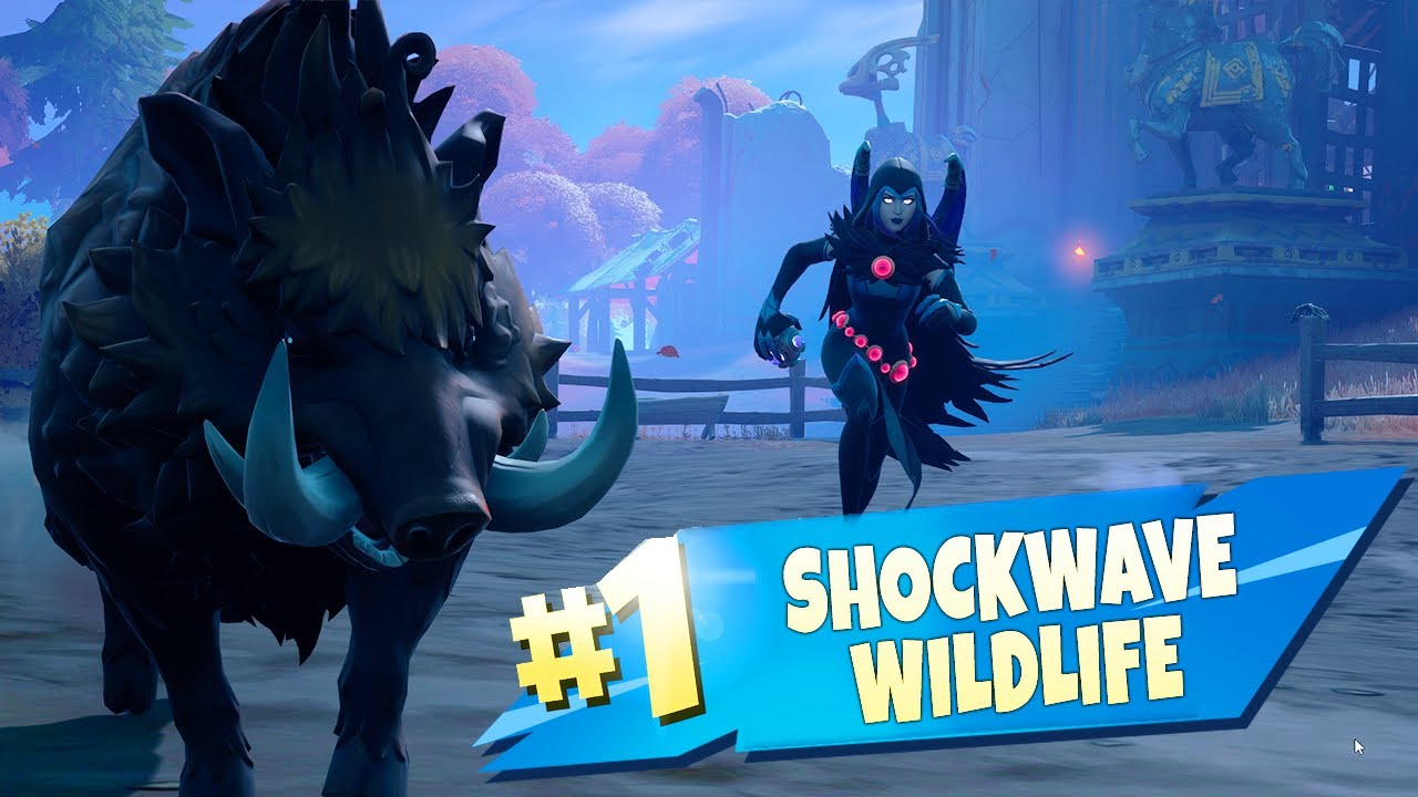 Shockwave Wildlife Using a Shockwave Grenade or Bow - Fortnite Week 4 Quests. The Quick Guide