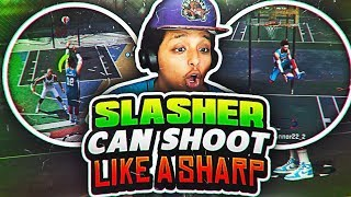 My SLASHER can SH00T better than your SHARPSH00TER