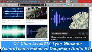 Sunday Live on Secureteam's Audio Fakes vs DeepFakes + Various  UAP Debunks ) - OT Chan Live#21